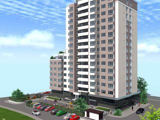 Se vinde apartament, Buiucani, 2 odăi, 25900 € Bloc nou.