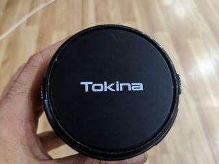 Obiectiv Tokina și Minolta