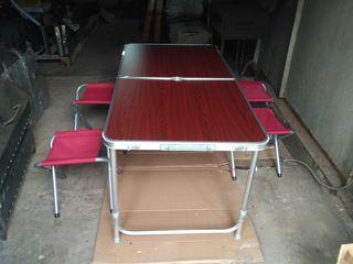 Masă pentru picnic. стол для отдыха