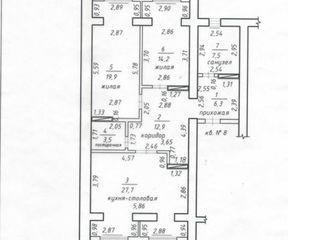 Продается двух комнатная квартира в новом доме