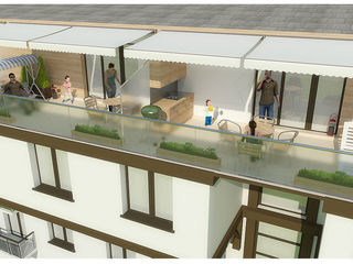 1-комнатная! Центр Ботаники Зелинского! Открытая терраса