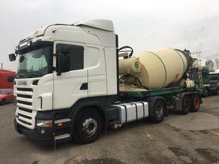 Scania R 400 Euro5 Mixer-Liebherr 10 см