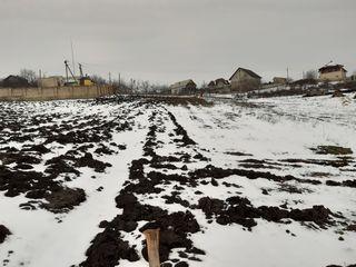 Se vinde lot de pământ pentru construcție 12 ari, s. Dănceni, r-l Ialoveni