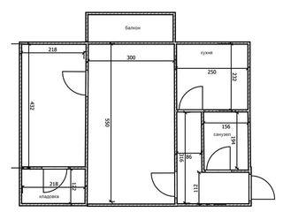 Продам 2 ком.квартиру.Рышкановка.ул.Димо 5/1- 3-этаж.27000евро