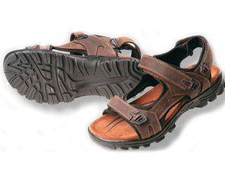 Летние мужские сандалии Wulik - коричневые