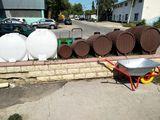 Butoaie de tip lemn /rezervoare din masa plastica alimentara