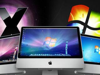 Установка Windows и MacOS+ ремонт компьютеров и ноутбуков . Выезд - Бельцы. Cкидка 25 %!!!