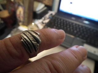 серебряное кольцо-недорого