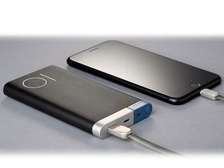PowerBank 10000mAh с зарядкой и от Lightning, и от MicroUSB