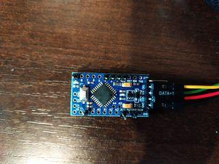 Ардуино Про Мини. USB-TTL адаптер.