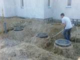 Vodoprovod kanalizatiea+kopaem.vrucnuiu+exskavatorom.trambovka grunta,rezca asfalita+betona .