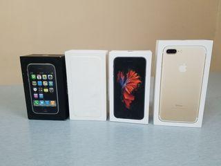 Коробка от Iphone 6S и Iphone 7 Plus Gold