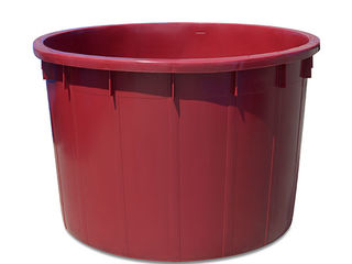 Cada pentru vin fara capac 1000 L vertic.ov.(rosie) STP Cod produs 37762/1
