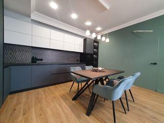 Se vinde apartament cu 1 cameră+living, garderobă+spațiu de birou, Midtown! Ciuflea