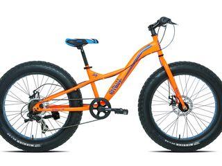 """Carratt pitbull c770 24"""" orange fatbike вездеходный"""