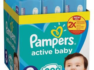 Scutece Pampers Active Baby XXL Box - cele mai convenabile ambalaje cu livrare in toata tara!