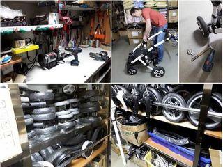 Ремонт велосипедов,детских колясок , скейтов,самокатов ,роликов. центр.