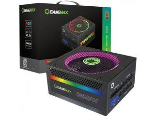 Блок питания Gamemax RGB 850 W Modular 80 Plus Gold RGB