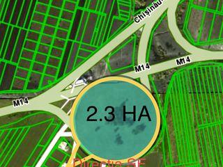 Se ofera spre vinzare teren in comuna Budesti, amplasare strategica, 2,3 ha, 199 000 €