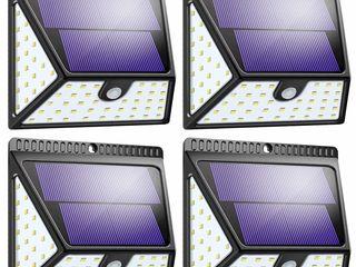 Солнечные фонари на 82 светодиода, радиус освещения 270 градусов - 300 лей (цена за 1 штуку) новые