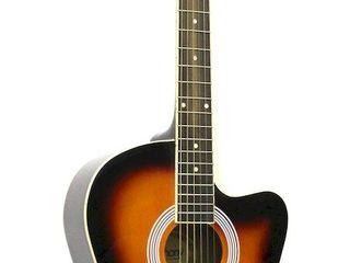 USA гитара Euphony Ew-100=1280 L. Гитара 8/10 (Отличное состояние струны новые! Barter!