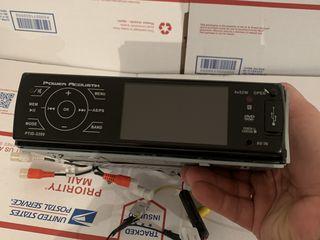 "Автомагнитола Power Acoustik PTID-3200  3.2"" LCD Aux/USB DVD MP4"