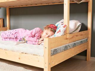 Mira, двухъярусная кровать, натуральное дерево, 3 спальных места