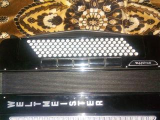 Продаю аккордеон Weltmeister Supita в хорошем состояний! Цена договорная!