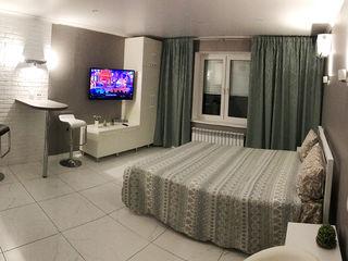 Buiucani, str. E. Coca. Noapte—400 lei, 24 h—500 lei, 2 ore—250 lei. Apartament-Studio modern.