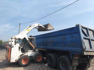 Oferim servici Bobcat, Compactor, Samosfal Excavator etc.