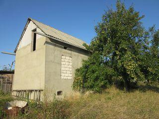 Продается дача, котельцовый дом и участок 12 соток (2 участка по 6 соток), 25 км от Кишинева. Колоде