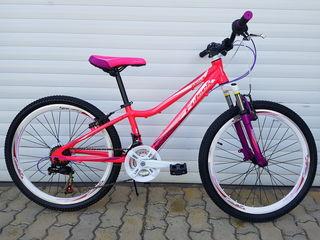 Новый алюминиевый подростковый велосипед для девочек от 8 лет