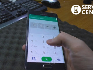 Samsung Galaxy Note 4 Edge (N915)  стекло разбил, пришел, заменил!
