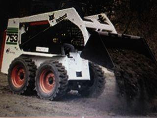 Servicii Tractor  Услуги Трактор Bobcat 753