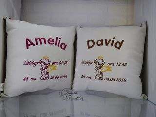 Pernute decorative personalizate/ Декоративные подушки с персонализацией