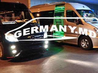 Germania, Olanda, Belgia, Austria, Cehia, Luxemburg, Elveția, Ungaria. Transport de Pasageri.