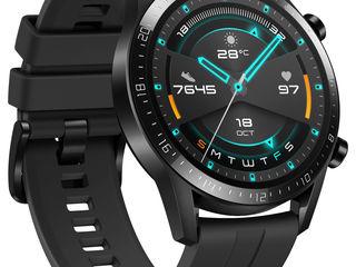 Huawei Smartwatch Watch GT 2 46mm Black Matt 14 zile autonomie  la pret promo de 2699lei  !!!