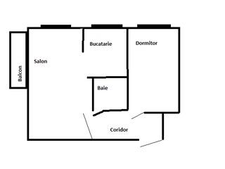 Apart. 2 camere Balti vînd/schimb pe apart. 1-2 camere în Chisinau+diferenta in bani