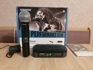 Shure PG24 PG58 microfon vocal. Original. Frecvente bune!