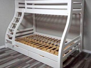 Двухярусная кровать с ящиками Аляска 120/80/200 в кредит! Доставка на дом бесплатная!
