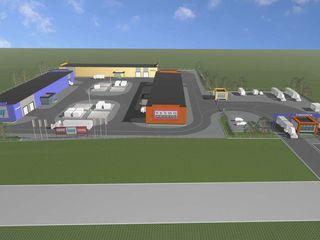 Chirie - spațiu pe teritoriul pieței - baze materiale de construcție