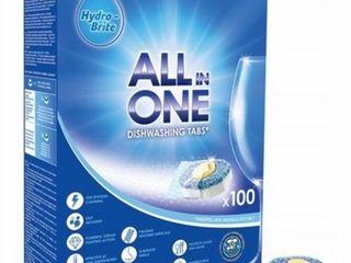 Таблетки для посудомоечной машины Hydro-Brite 100шт 200 лей, доставка бесплатно
