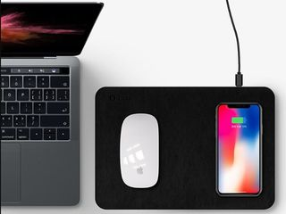 Biaze mouse pad cu wireless charger incorporat