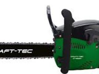 Бензопила Craft-Tec CT-5000 Корпус  магниевый 2 шины 2цепи