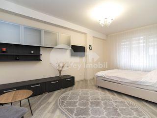 Apartament cu o cameră, 50 mp, reparație euro, Botanica, 350 € !