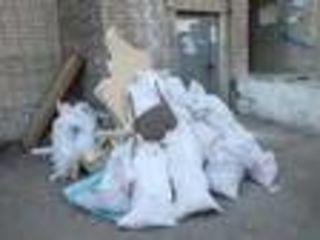 Вывоз мусора - поднятие стройматериалов на этаж. Exportăm resturi de construcție