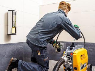 Канализация чистка и промывка. высоким давлением - гидродинамическая.