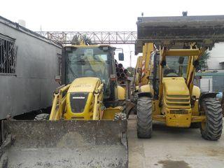 Arenda: Buldoexcavator, excavator 5m, automacara 25 T, rulou 5t, Kamaz, Camion+manipulator, Bobcat