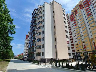 Apartament spațios 3 odăi + living cu bucătărie 125 m2 Ciocana Exfactor Priveliște spre parc 650e/m2