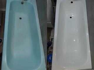Restaurarea cazi de baie vechi cada de baie din fontă, metal,plastic реставрация ванн